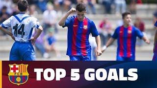 FCB Masia-Academy: Top goals 13-14 May