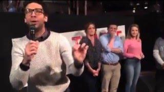 Undateable Live pre-show Cast Intro (Rick Glassman introduces the cast)