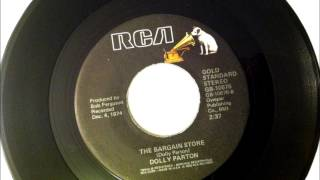 The Bargain Store , Dolly Parton , 1975 Vinyl 45RPM
