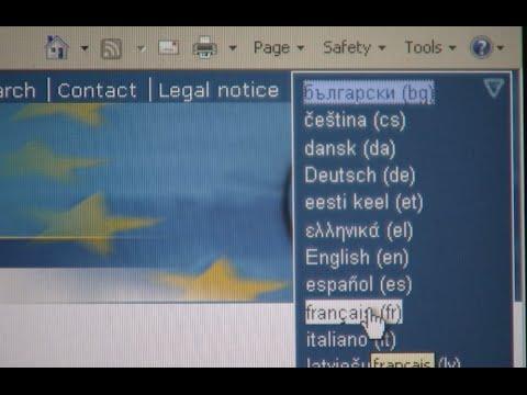 Minuto Europeu nº 25 - Linguas da UE
