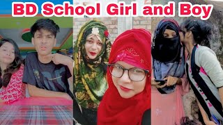 Bangladeshi School Girl and Boy New Tiktok Musical Video ৷ Bangla New Likee ৷বাংলা ফানি টিকটক৷SK LTD