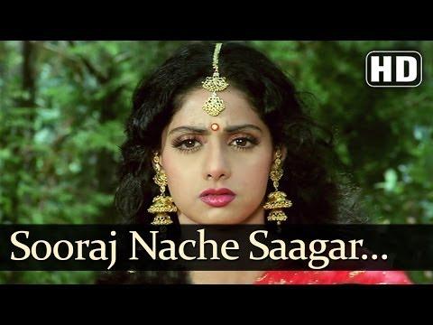 Download Suraj Nache Sagar Nache (Sad) (HD) - Pathar Ke Insan Songs - Vinod Khanna - Sridevi HD Mp4 3GP Video and MP3