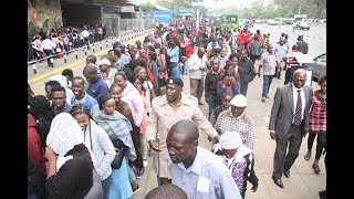Mad rush to list for Huduma Namba - PHOTOS - VIDEO