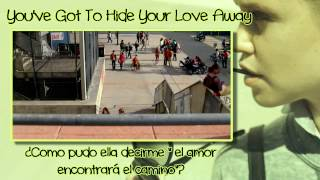 Glee - You've Got To Hide Your Love Away  [Sub Esp + Vídeo]