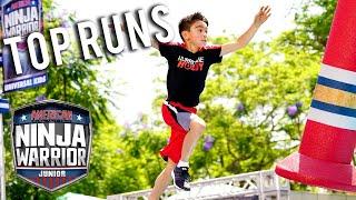 American Ninja Warrior Junior: Season 1 BEST RUNS Compilation 5 | Universal Kids
