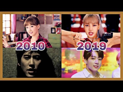 TOP 3 MOST VIEWED KPOP MUSIC VIDEOS EACH YEAR (2010-2019)