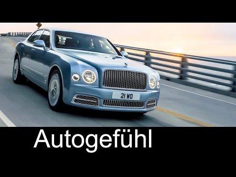 New Bentley Mulsanne Facelift EWB / Speed / normal 2017 Exterior/Interior preview neu