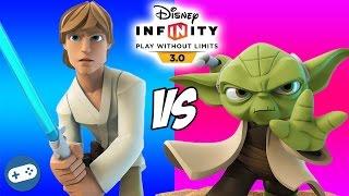 Luke Skywalker VS Yoda Disney Infinity 3.0 Star Wars Toy Box Versus