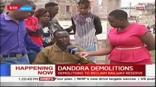 Nairobi City County reclaims a railway reserve in Dandora