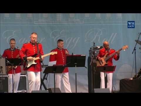 White House Easter Egg Roll: Bunny Hop Stage with the Marine Corps Band