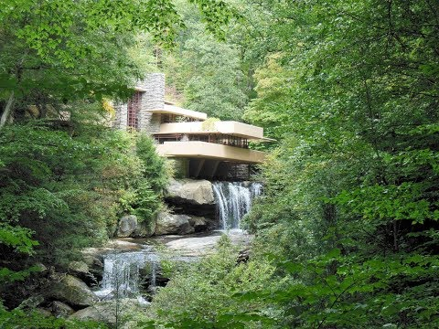 Fallingwater Frank Lloyd Wright Ohiopyle Vacation Slideshow