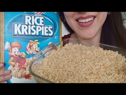 Eating Sounds - Rice Krispies Treats + Recipe