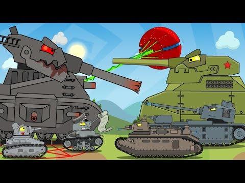 Все серии Левиафана + бонусная концовка / Мультики про танки видео