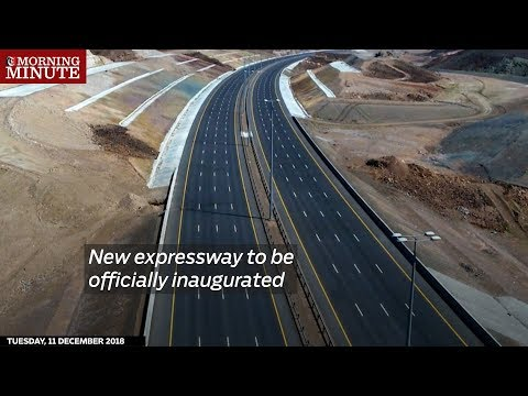 New expressway to be officially inaugurated