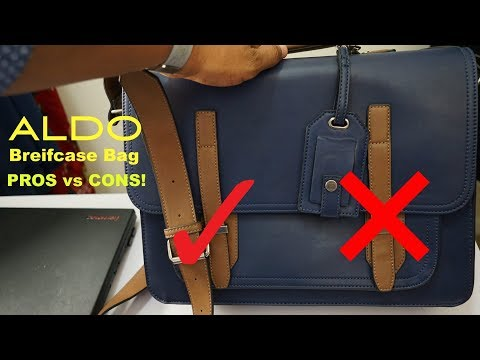 ALDO BRIEFCASE BAG REVIEW | PRO'S vs CON's
