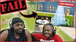 Reacting To When  Dion Was BETTER Than Trent In Fortnite!