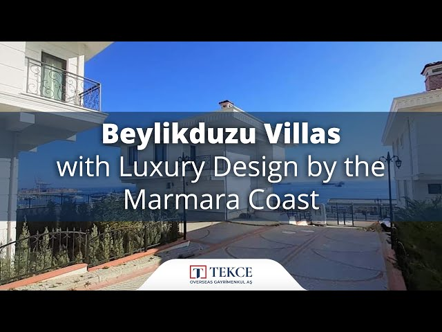 Houses for Sale Against to the Sea of Marmara in Istanbul