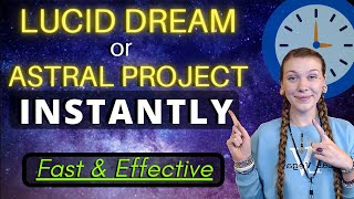 How to Induce Sleep Paralysis + POWERFUL Lucid Dreaming & Astral Projection Technique