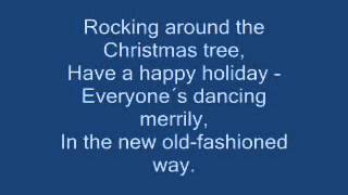 The Baseballs - Rocking around the Christmas tree Lyrics