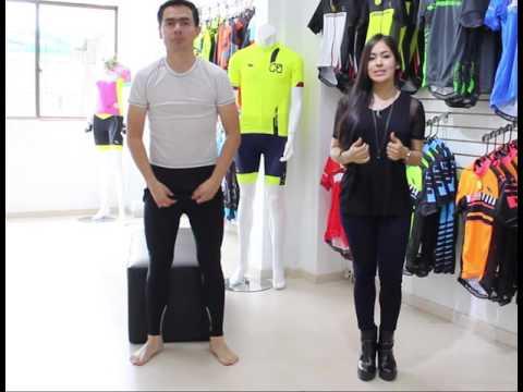 Como ponerte adecuadamente el pantalón de ciclismo