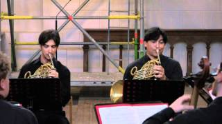 Beethoven Sextet in E-flat op.81 b for two horns and strings (1/3)