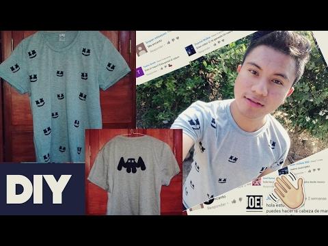 DIY Estampa Tu Camiseta Marshmello Fácil || William Gordon