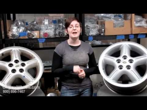 Freelander Rims & Freelander Wheels - Video of Land Rover Factory, Original, OEM, stock used rim