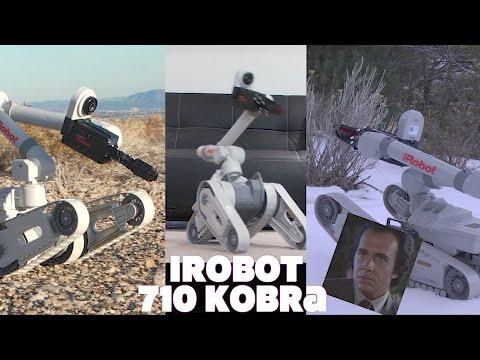 iRobot 710 Kobra RC New Bright Endeavor Robotics Land Drone review!