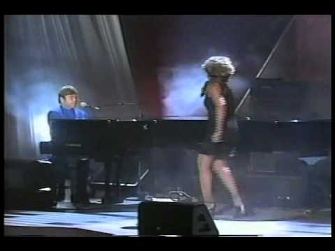 Elton John And Tina Turner - The Bitch Is Back (Live)