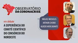 #AOVIVO | A experiência do Comitê Científico do Consórcio Nordeste | Observatório da Coronacrise
