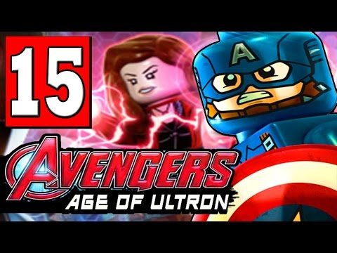 Lego Marvels Avengers Walkthrough Age Of Ultron Part 11 Level