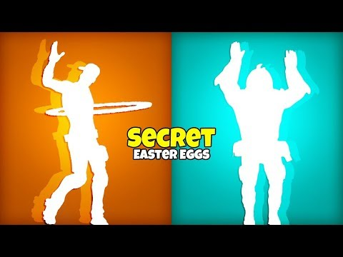 *NEW* Fortnite EASTER EGGS..! (Emotes With Secret Features)