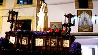 preview picture of video 'El Cautivo encerrandose Semana Santa Olvera 2014'