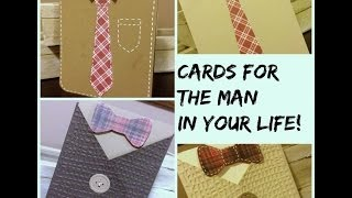 Two Easy Peasy Masculine Cards