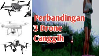 3 drone terbaik dari DJI • phantom 4 pro - mavic pro - inspire v 2