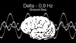 'Euphoria' Delta Binaural Beat - 0.9Hz (1h Pure)