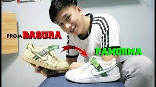 Ukay Ukay Shoes FULL RESTORATION ( from basura to PAMORMA )