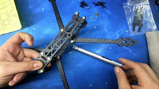 Nuovo drone FPV da 7 pollici. Parte 1. Scelta componenti e assemblaggio frame.