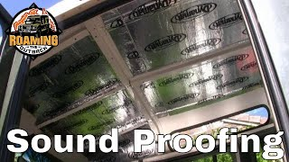 Defender Sound Proofing Upgrade Dynamat Xtreme - Installation and Review