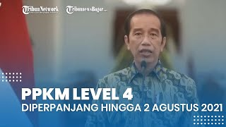PPKM Level 4 Diperpanjang hingga 2 Agustus 2021, Ini Sejumlah Aturan bagi Pedagang dan Waktu Bukanya