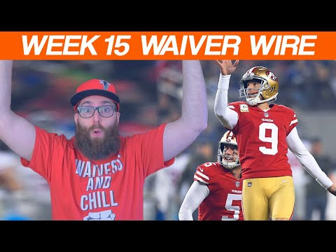 Waiver Wire Pickups Week 15 Fantasy Football 2019