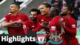 Newcastle Vs Liverpool 2 3   All Goals  Extended Highlights   2019