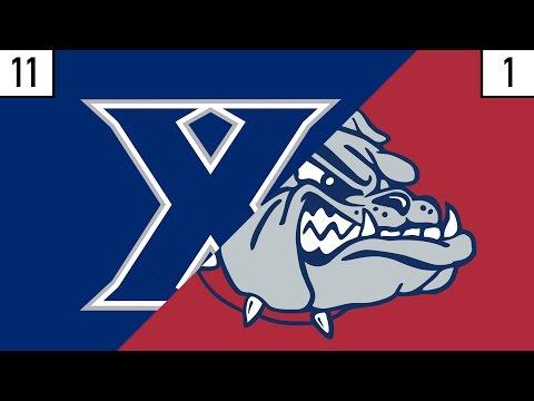 11 Xavier vs. 1 Gonzaga Prediction | Who's Got Next?