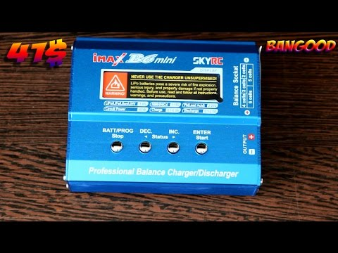 отличное зарядное устройство skyrc imax b6 mini