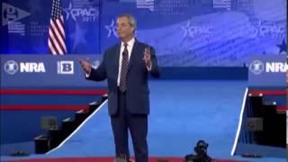 Nigel Farage addresses CPAC 2017 - full video