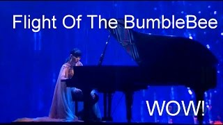 Dami Im #WOWS everyone with her piano skills at AACTA!