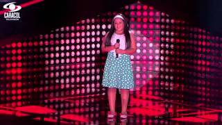 Danna cantó 'Corre' de Jesse  Joy  – LVK Colombia – Audiciones a ciegas – T1