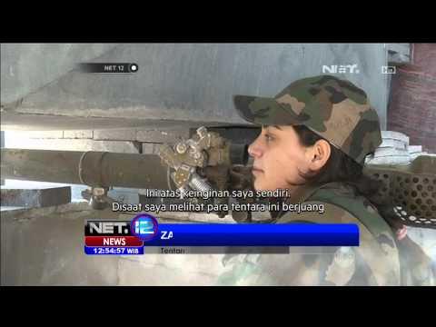 Ketangguhan Tentara Wanita di Suriah - NET12