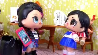 ТИПЫ ПРОДАВЦОВ ЛОЛ Смешное видео Скетч LOL Surprise мультик для детей Вероничка Lalaloopsy