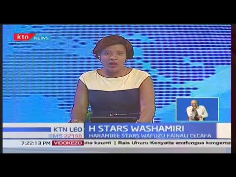Harambee Stars wajikatia tiketi ya finali ya dimba la CECAFA